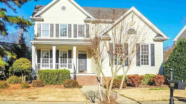 Photo 1 of 25 - 233 Elmcrest Dr, Holly Springs, NC 27540