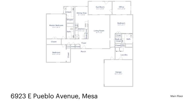 Photo 1 of 26 - 6923 E Pueblo Ave, Mesa, AZ 85208