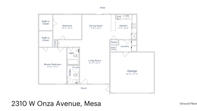 Photo 1 of 28 - 2310 W Onza Ave, Mesa, AZ 85202