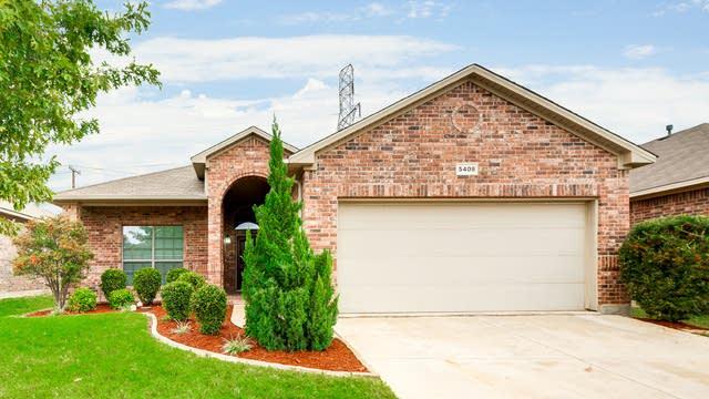 Photo 1 of 25 - 5408 Grayson Ridge Dr, Fort Worth, TX 76179