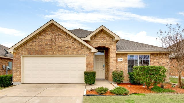 Photo 1 of 28 - 2123 Bluebell, Forney, TX 75126