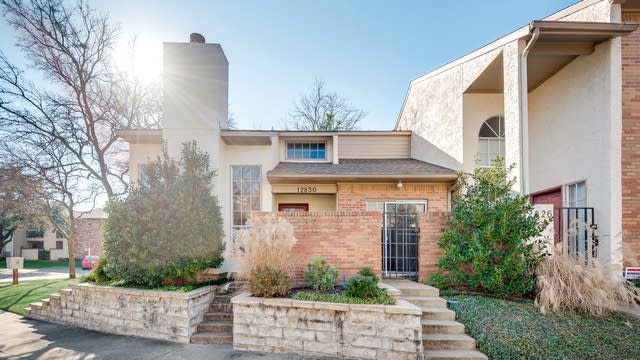 Photo 1 of 29 - 12830 Burninglog Ln, Dallas, TX 75243